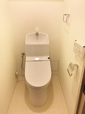 賃貸物件 トイレ リフォーム後